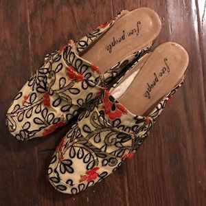 EUC Free People At Ease loafers Sz 10